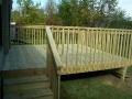 Treated Wood Deck